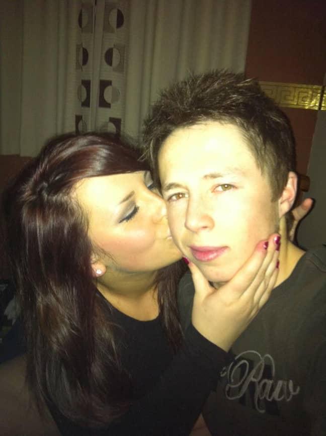 Megan met Damien when she was sixteen (Credit: Megan Davies)