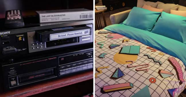 The whole place has a retro feel (Credit: Airbnb/ Sandi Harding)
