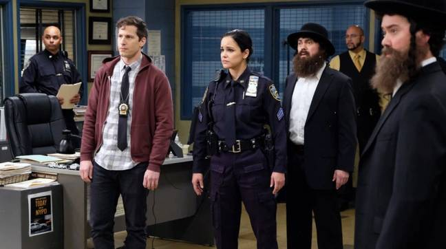 Fans are currently enjoying B99 season 7 in the US (Credit: NBC)