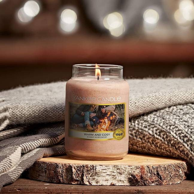 Yankee's campfire collection is going to bring the joy of campfires into your home (Credit: Yankee)