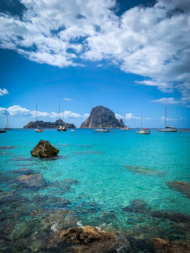 The south east of the UK could be as hot as Ibiza this weekend (Credit: Unsplash)