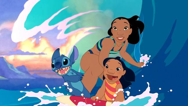 The animated film came out in 2002 (Credit: Disney)