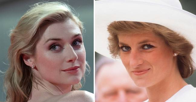 Elizabeth Debicki plays Princess Diana (Credit: PA Images)