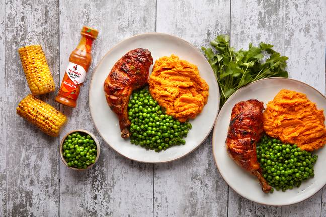 Or quarter chicken legs and sides (Credit: Nando's)