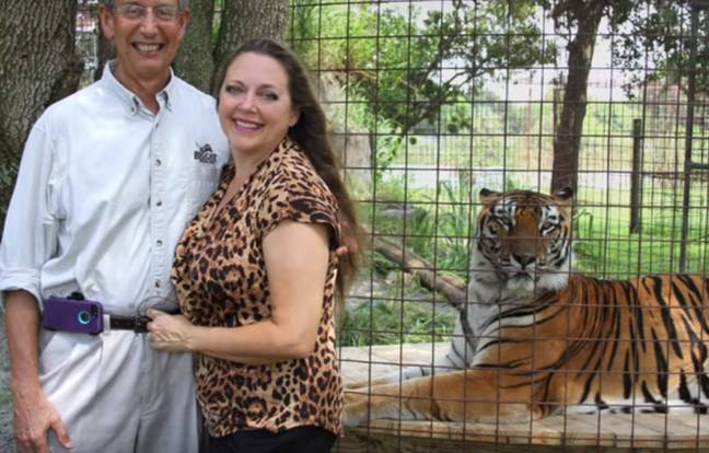 Carole Baskin is now re-married (Credit: Big Cat Daily/YouTube)