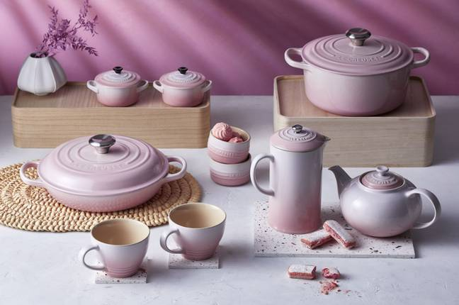 They are very similar to Le Creuset's collection (Credit: Le Creuset)