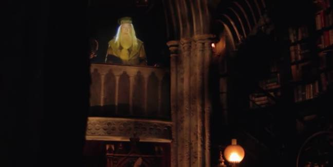 You can visit Dumbledore in his office (Credit: Undercover Tourist)
