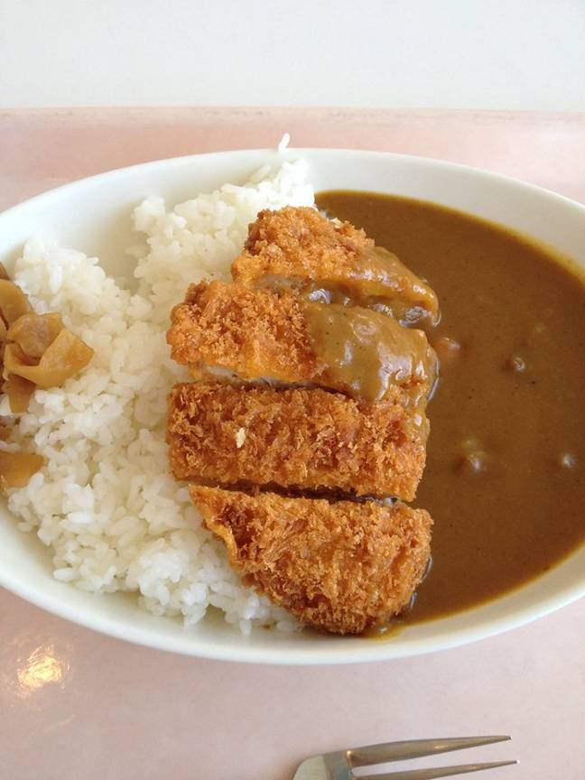 The traditional version uses fried chicken (Credit: Flickr)