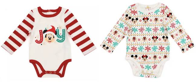 How cute are these baby grows? (Credit: Disney)