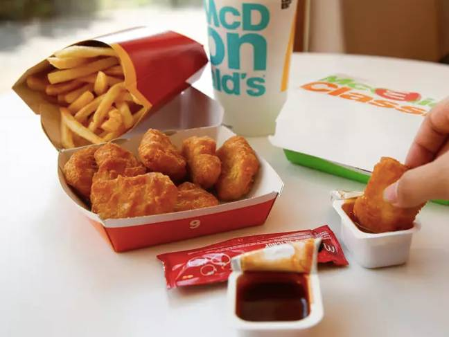 Nuggets are also on offer at McDonalds (Credit: PA Images)