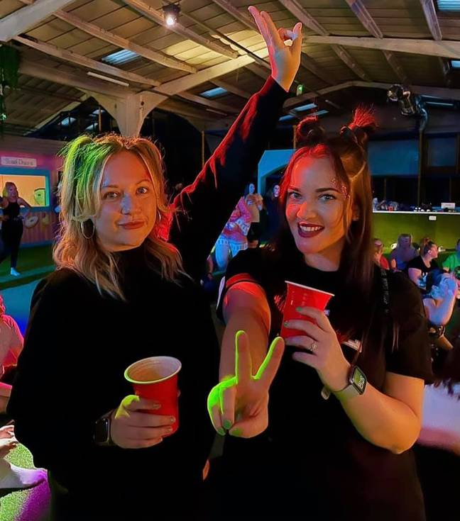 An entertainment complex in Kent has launched a soft play night for adults featuring 90s tunes and vodka slushies (Credit: Facebook/Under 1 Roof Thanet)
