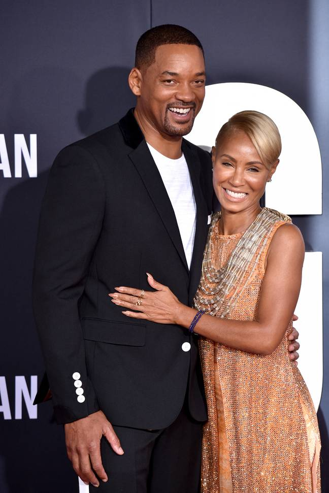 Will and Jada have been married 23 years (Credit: PA)
