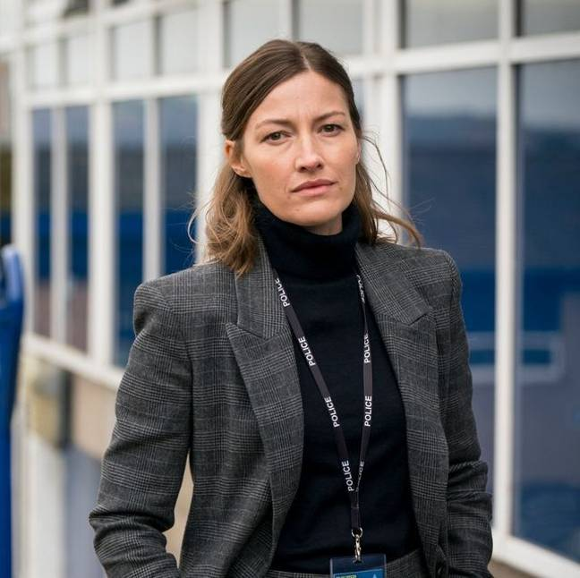 The episode revealed Jo Davidson (Kelly Macdonald) is related to Tommy Hunter (Credit: BBC)
