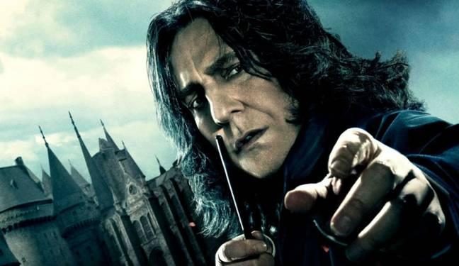 What, this Snape? (Credit: Warner Bros)