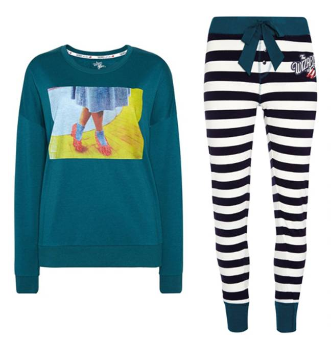 Stripy bottoms, £8, Jumper, £12 (Credit: Primark)