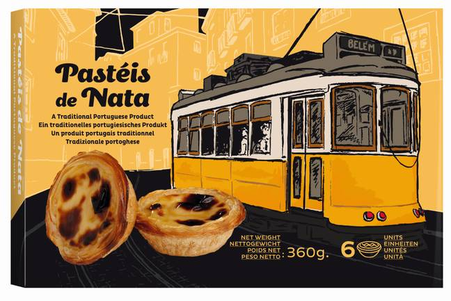 Pasteis de Nata are a traditional Portugese dessert (Credit: Lidl)