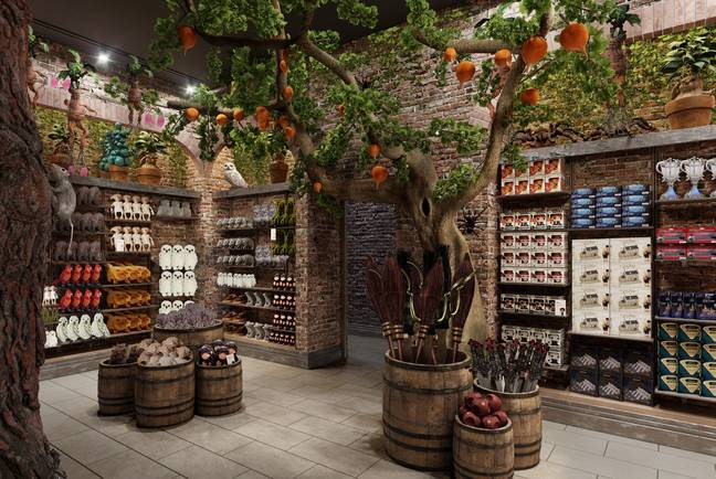 The toy shop in Harry Potter New York (Credit: Harry Potter New York)