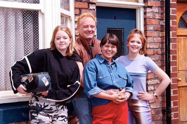 The Battersbys in 1997 (Credit: PA)