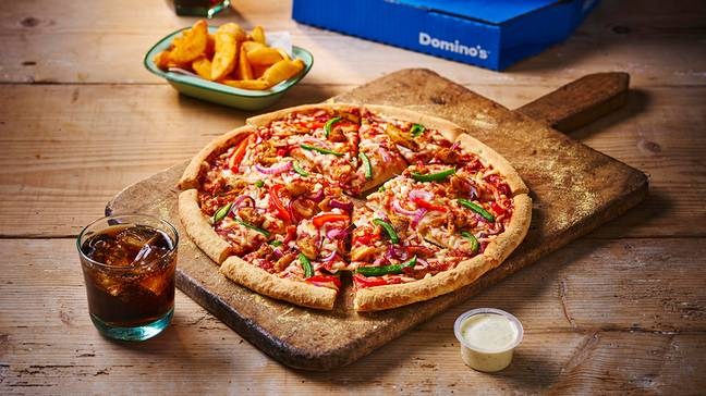 It includes The Chick-Ain't meat alternative pizza and southern friend Vegan Nuggets (Credit: Domino's)