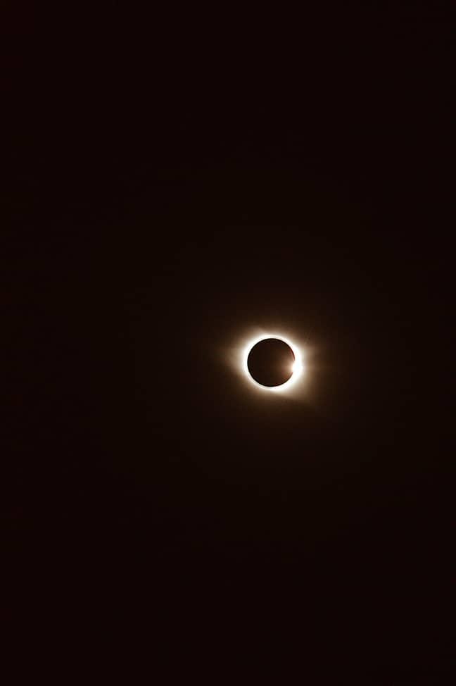 The UK will see a crescent sun (Credit: Unsplash)