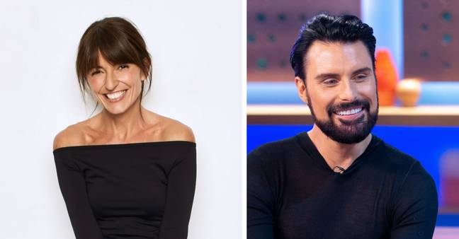 Davina and Rylan are returning for the throwback episode (Credit: Channel 4 Handout)