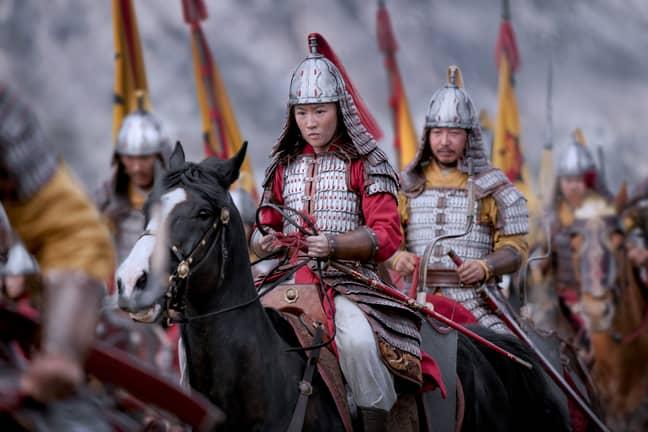 The movie follows the adventures of warrior princess Mulan (Credit: Disney)
