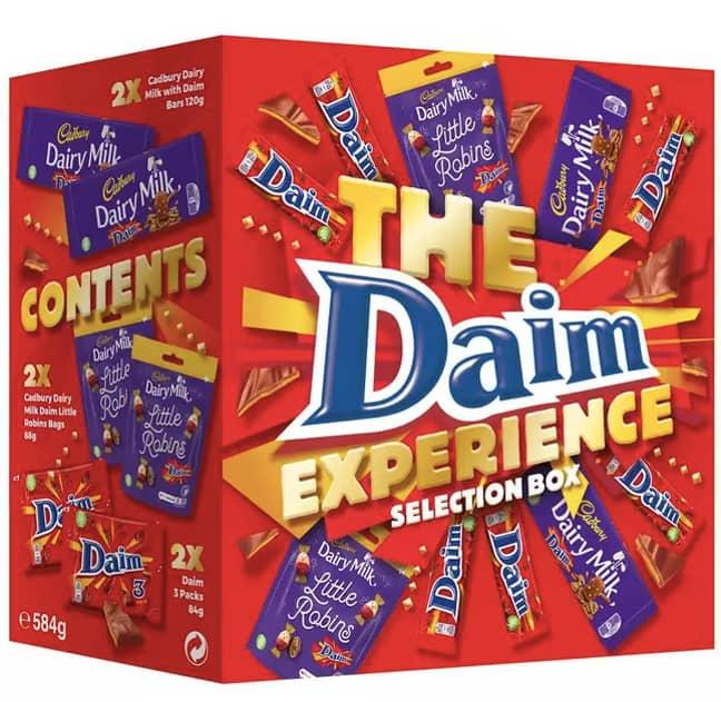 Introducing the Daim Experience box (Credit: Cadbury)