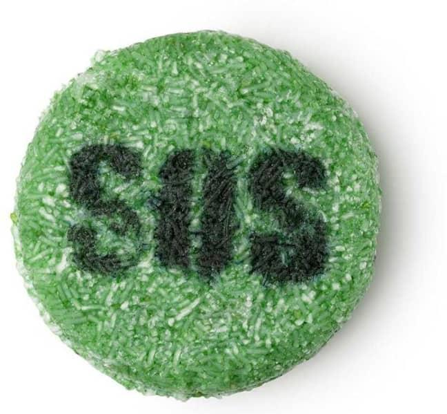 SOS shampoo bar. Credit: Lush