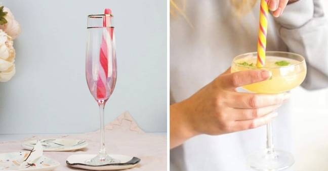 Holly's Lollies are perfect in a glass of Prosecco, a gin or a cocktail (Credit: Holly's Lollies)