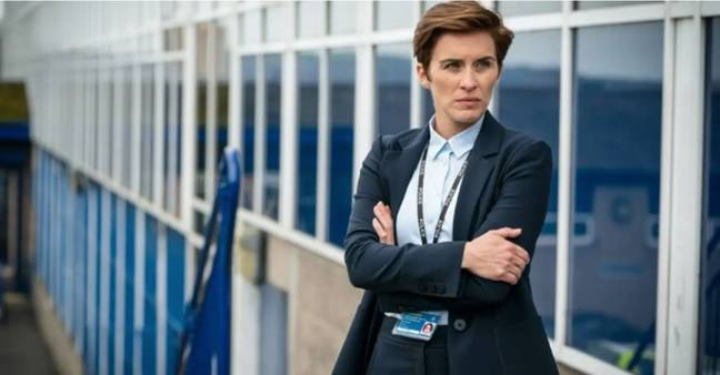 Vicky McClure as Detective Inspector Kate Fleming in BBC's Line of Duty (Credit: BBC)