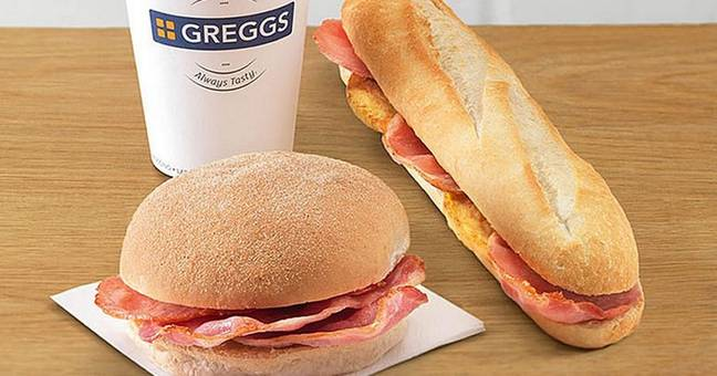 Free breakfast goods are also on offer (Credit: Greggs)
