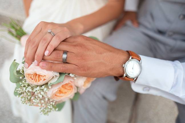 You can claim a £250 refund if you got married during the 2016/17 tax year (Credit: Unsplash)