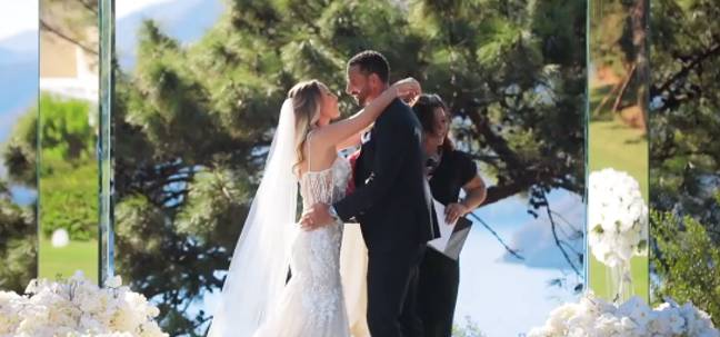 The pair tied the knot in Turkey last year (Credit: BBC)