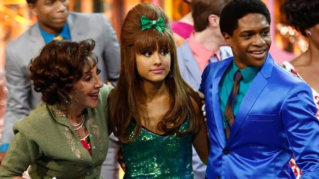Ariana plays Tracy Turnblad's goofy-adorable BFF Penny Pingleton (Credit: 'Hairspray Live!')