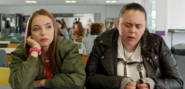 Jodie in 'My Mad Fat Diary' (Credit: Channel 4)