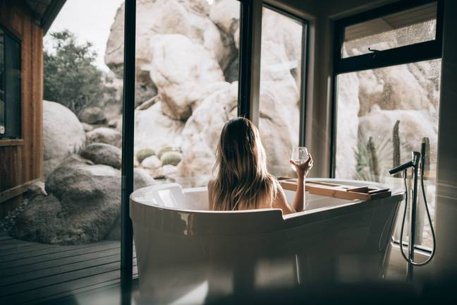 Hot baths and saunas are actually good for us (Credit: Unsplash)