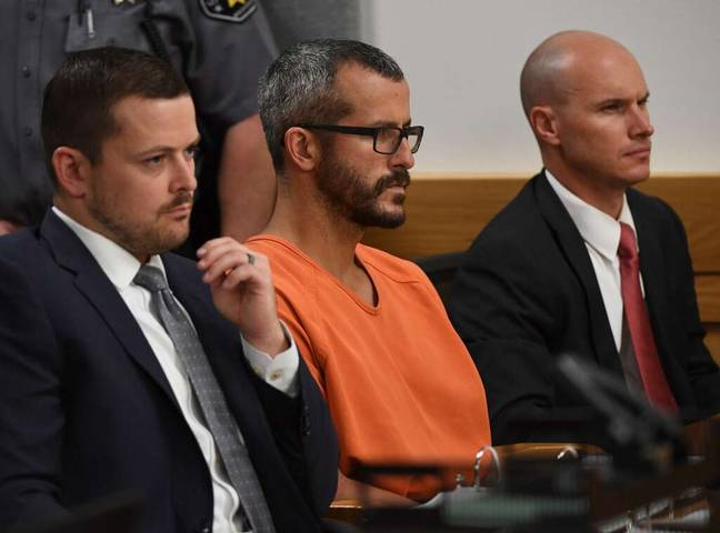 Chris Watts was sentenced to three consecutive life terms in prison (Credit: Netflix)
