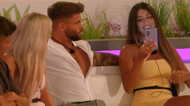 Shannon was booted out the villa 48 hours in (Credit: ITV)