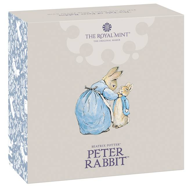 The coin features Peter Rabbit and the whole Rabbit family (Credit: The Royal Mint)