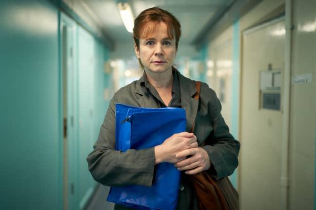 Emily Watson stars as forensic psychiatrist Dr Emma Robertson (Credit: ITV)