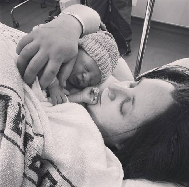 Hattie and Max were in hospital for three days before being discharged (Credit: Hattie Gladwell)