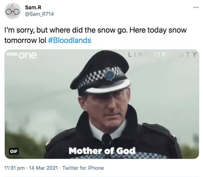 Others wanted to see a Line of Duty crossover (Credit: Twitter)