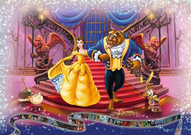 Scenes include 'Beauty and the Beast' (Credit: Jigsaw Puzzles Direct/Disney)