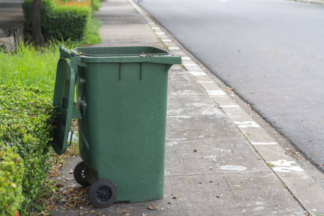 Becoming obsessed with bin day also means you're 'past it' (Credit: Shutterstock)