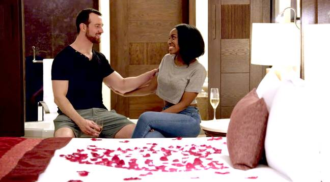 When the couples meet they must decide if they have physical chemistry (Credit: Netflix)