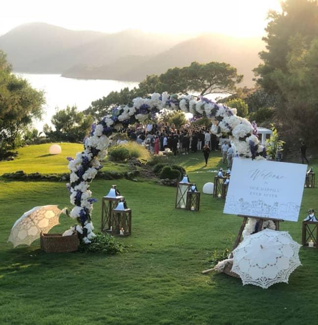 The hotel is a popular wedding destination Credit: D Maris Bay hotel