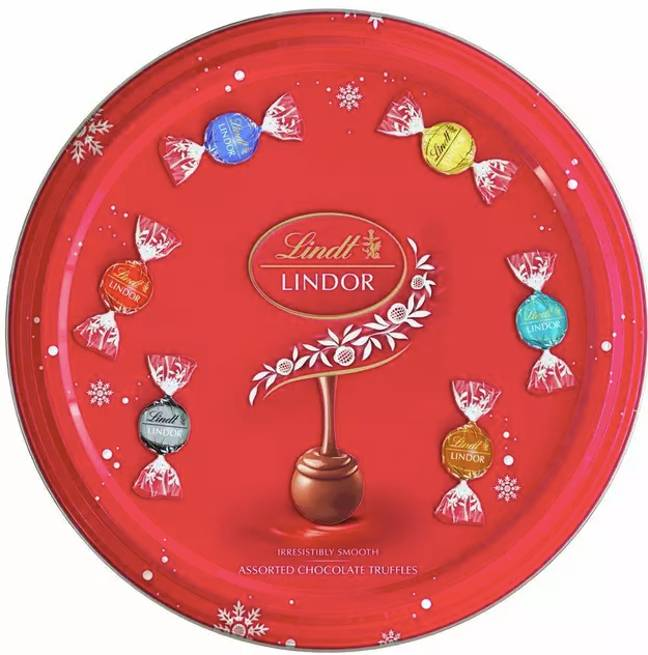 Lindt has launched a sharing tin (Credit: Lindt)
