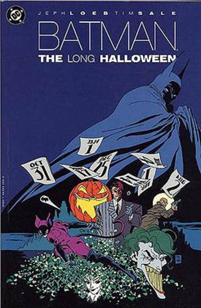 Batman: The Long Halloween is inspired by the comic book of the same name (Credit: DC Comics)