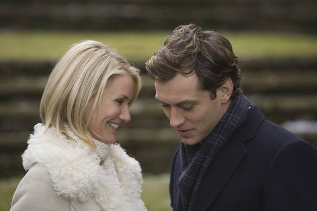 Jude Law, Kate Winslet, Cameron Diaz and Jack Black star in this sweet holiday film (Credit: Universal Pictures)