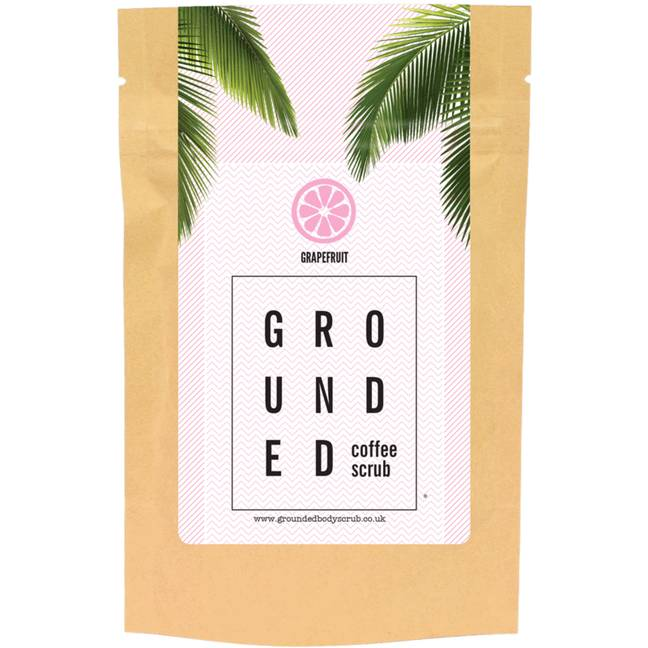 The scrub is just £15 per pack (Credit: Grounded Body Scrub)